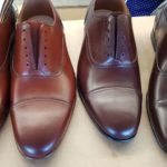 Oxford brown dress shoes, lindy hop shoes