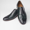 Dark Green Lindy Hop Men's Shoes