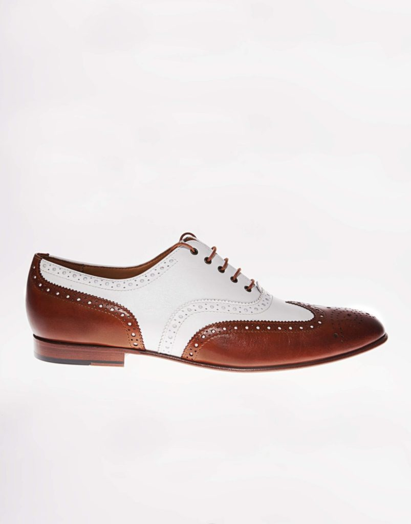 Wingtip Brogue Spectator Two-tone shoes
