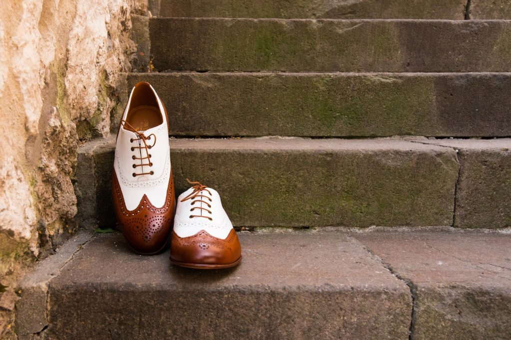 spectator shoes, wingtips, brogues, oxfords