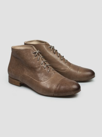 Brown Lindy Hop Boots